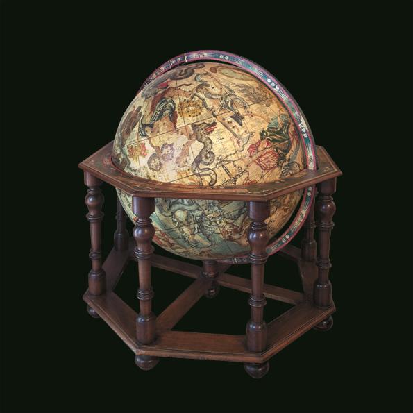 V. Coronelli, Globo celeste, sec. XVII