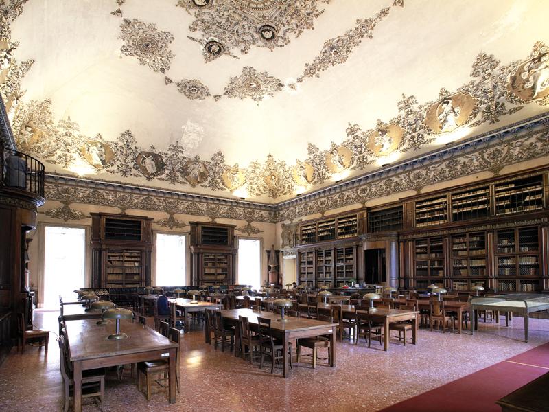 Salone di lettura, già salone delle feste