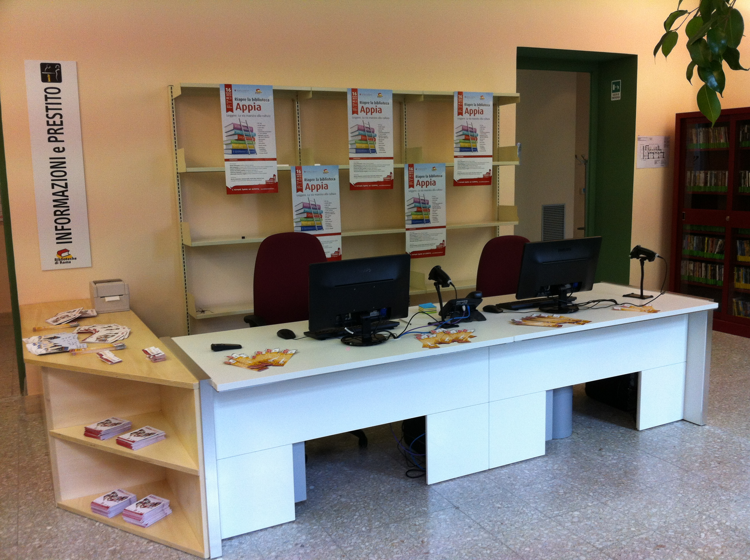Biblioteca Appia - Front Office